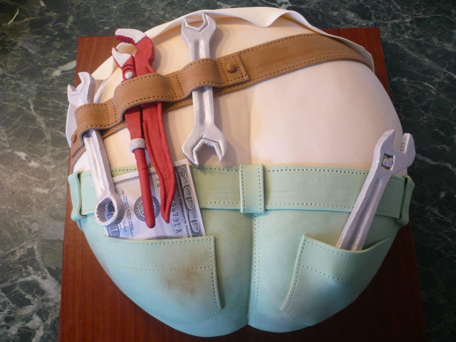 Как сделать торт в виде фуражки